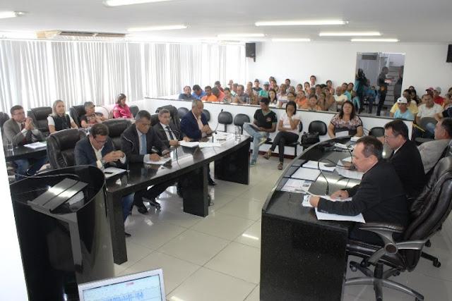 Vereadores de Delmiro Gouveia  aprovam Projeto de Lei que reduz taxa de iluminação pública