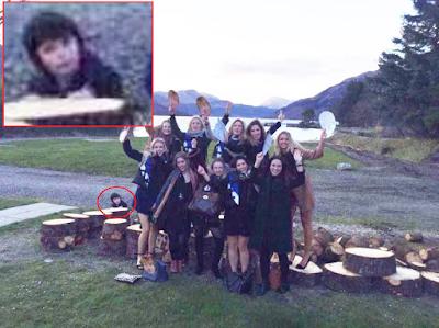 nouvel ordre mondial   Un fantôme repéré sur une photo prise près d'un lac en Écosse
