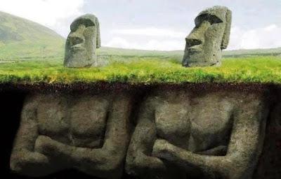 Arheolozi otkrili šokantnu misteriju o glavama na uskršnjem otoku Island.
