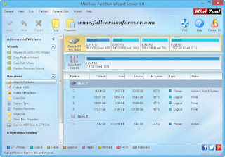 Download MiniTool Partition Wizard Professional + Serials 2015