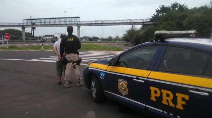 CACHOEIRINHA | PRF prende indivíduo por arremessar pedra em veículo na Freeway