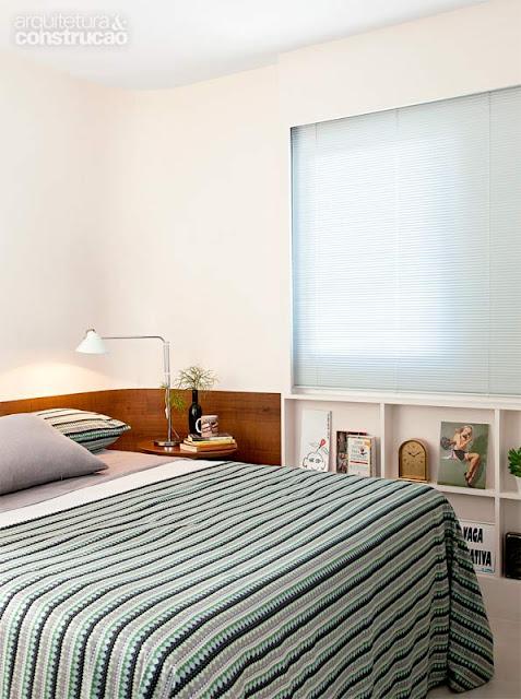marcenaria planejada em quarto pequeno