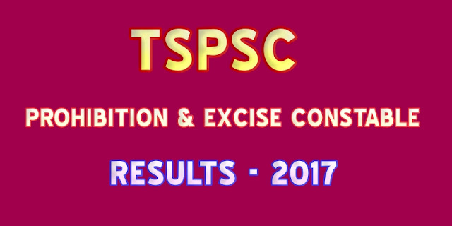 TSPSC-Prohibition-Excise-Constable-Resutls-2017