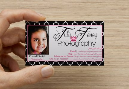 Finally I Am Ordering Business Cards Its Official