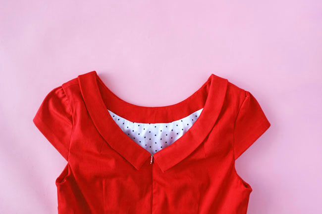 How to Line the Etta dress - Tilly and the Buttons