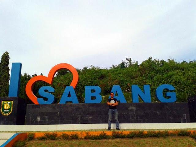 Tugu I Love Sabang