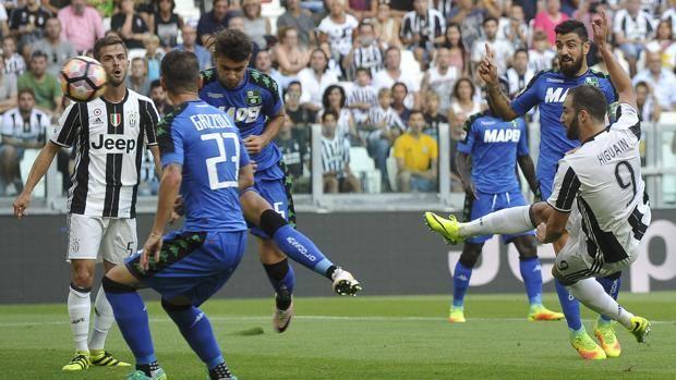 Juventus Sassuolo 3-1 Serie A 10/09/16 video highlights