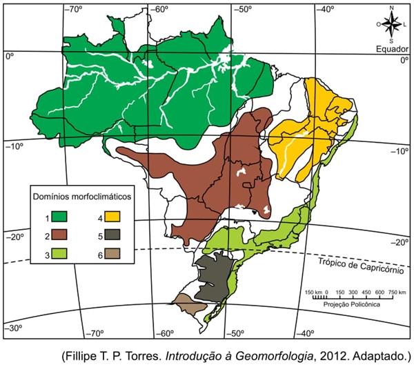Fillipe T. P. Torres. Introdução à Geomorfologia, 2012 Adaptado