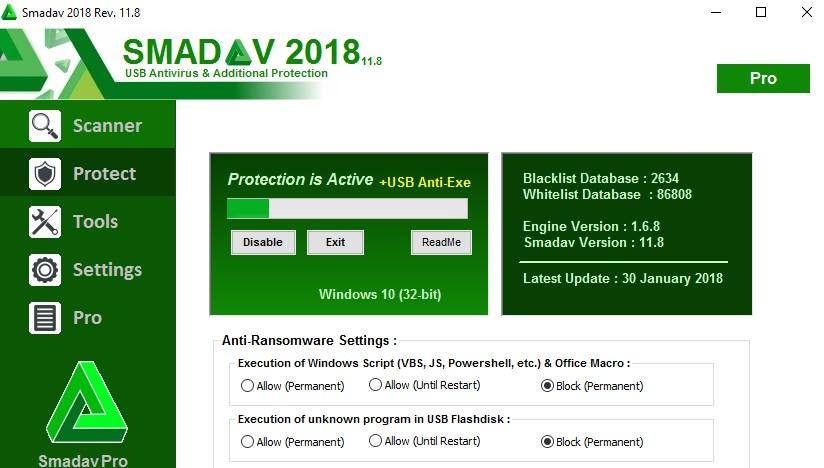 Antivirus Terbaik dan Ringan 2018 smadav