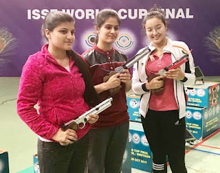 Devanshi Rana secures second place at Selection Trials in Air Pistol event