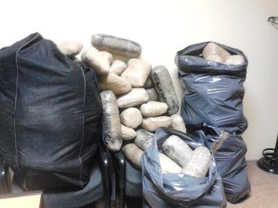 Θεσπρωτία: Συνελήφθησαν δύο ημεδαποί με 200 κιλά κάνναβης