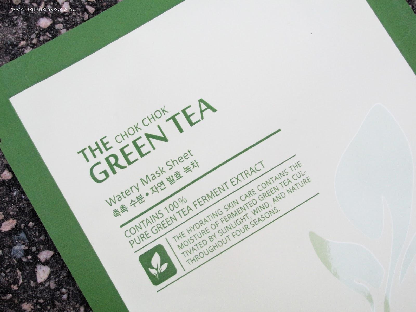 The Chok Chok Green Tea Watery Essence by TONYMOLY #10