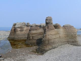 Île Nue de Mingan - Côte nord - Minganie - Golfe du Saint Laurent