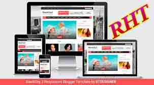 Seo ready responsive blogger template 6