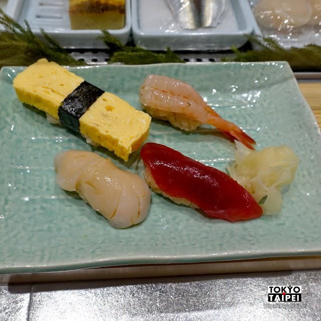 【TATSU SUSHI】離境前的壽司攤 站著吃正宗江戶前壽司