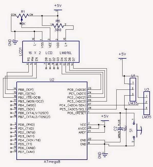 INTERFACING MULTIPLE TEMPERATURE SENSORS TO AVR