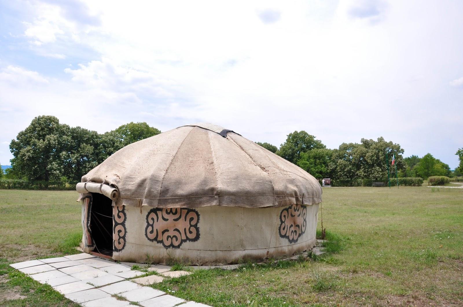 Yurt, Pliska, Bulgaria