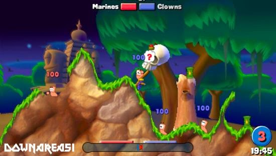 Worms Open Warfare PSP Game