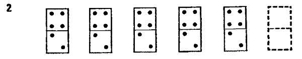 IqTest #7 (Domino D-70, 137 IQ, 44 ερωτ, 25')