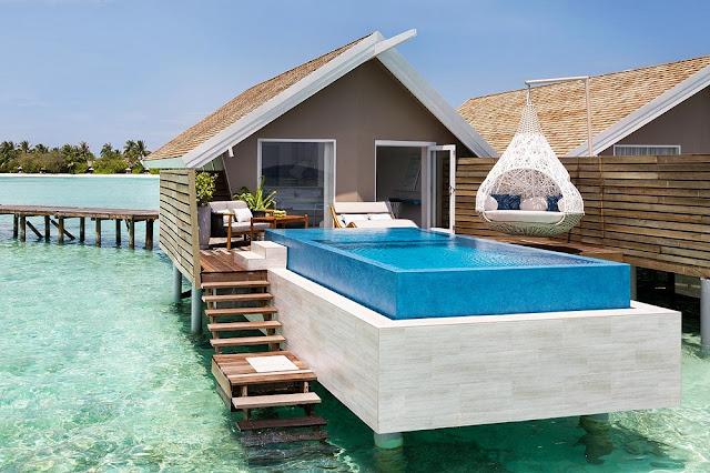 LUX* South Ari Atoll Maldives Water villa