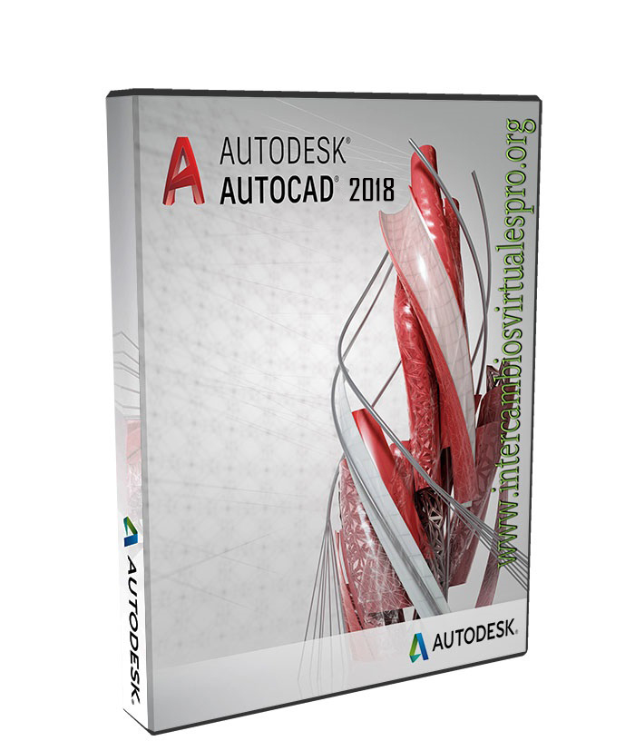 Autodesk AutoCAD 2018.0.1 poster box cover