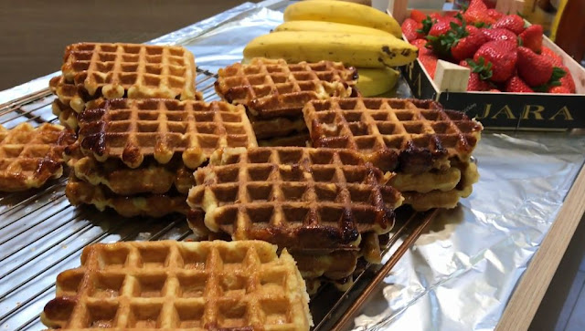 resep Membuat Snack Waffle enak