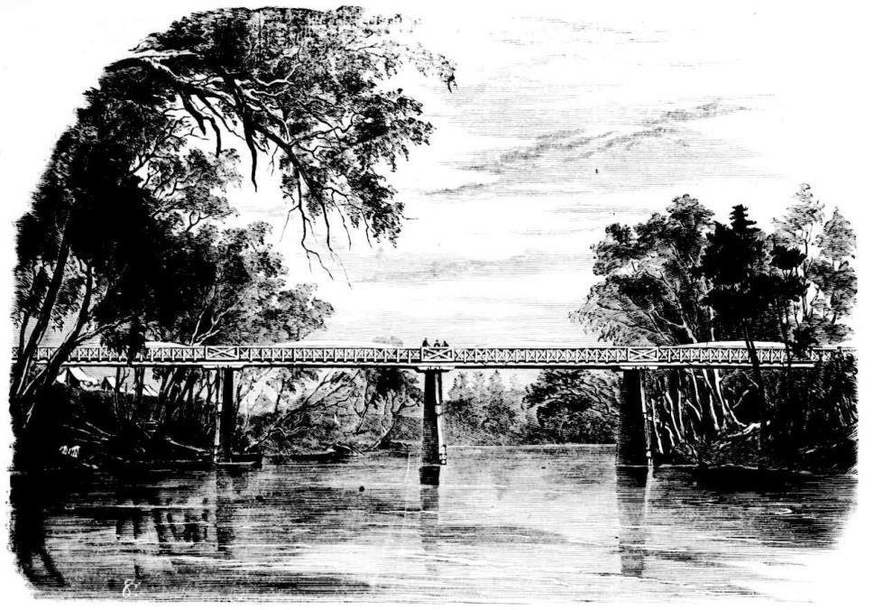 Bridge over the Murrumbidgee at Wagga Wagga