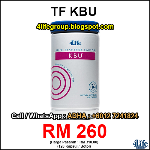 4Life Transfer Factor KBU