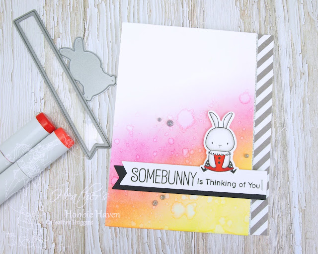 Heather's Hobbie Haven - Color Wednesday - Somebunny