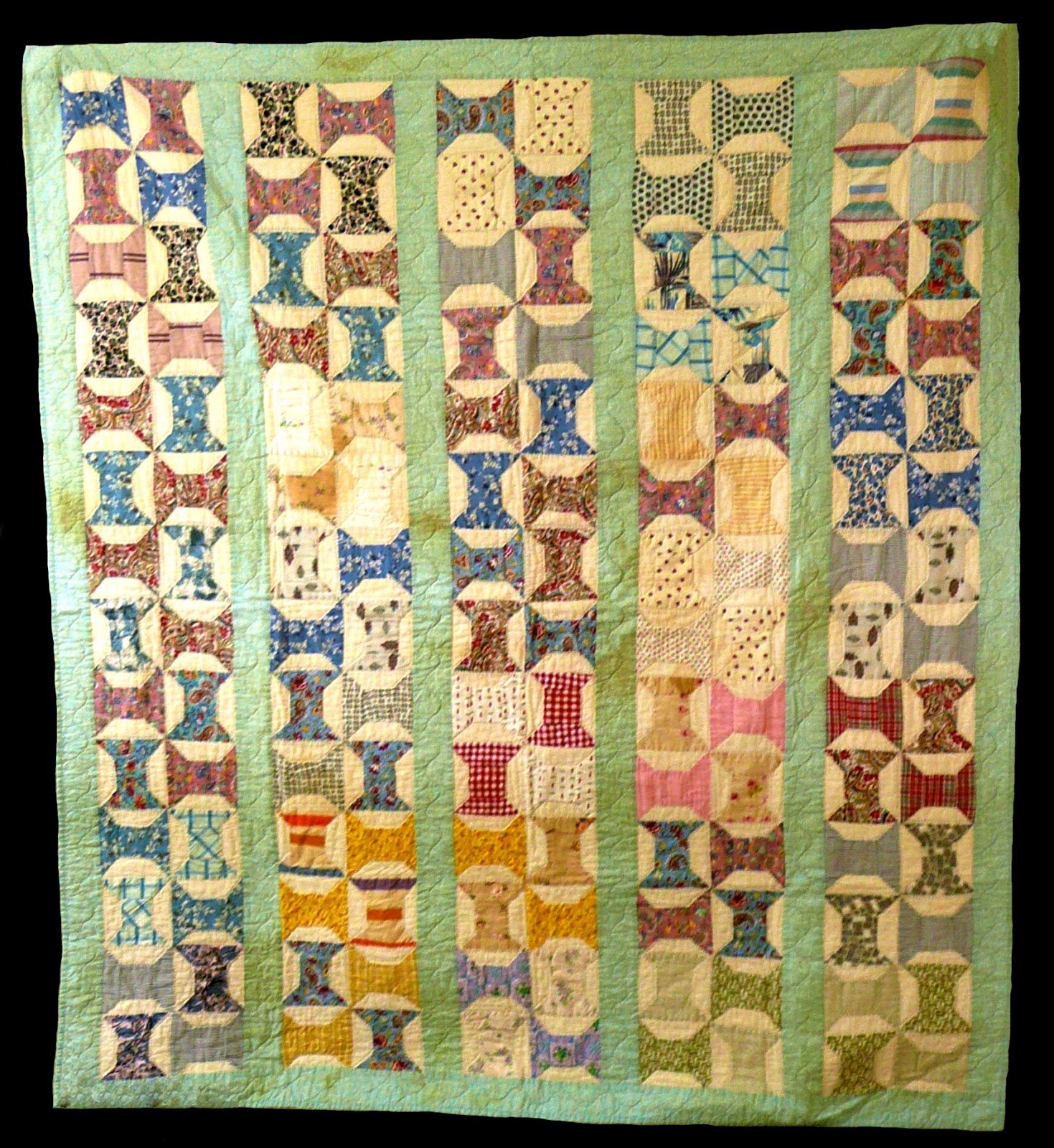 Spools Quilt Clendennen Mary Antique Spools Quilt Quilts