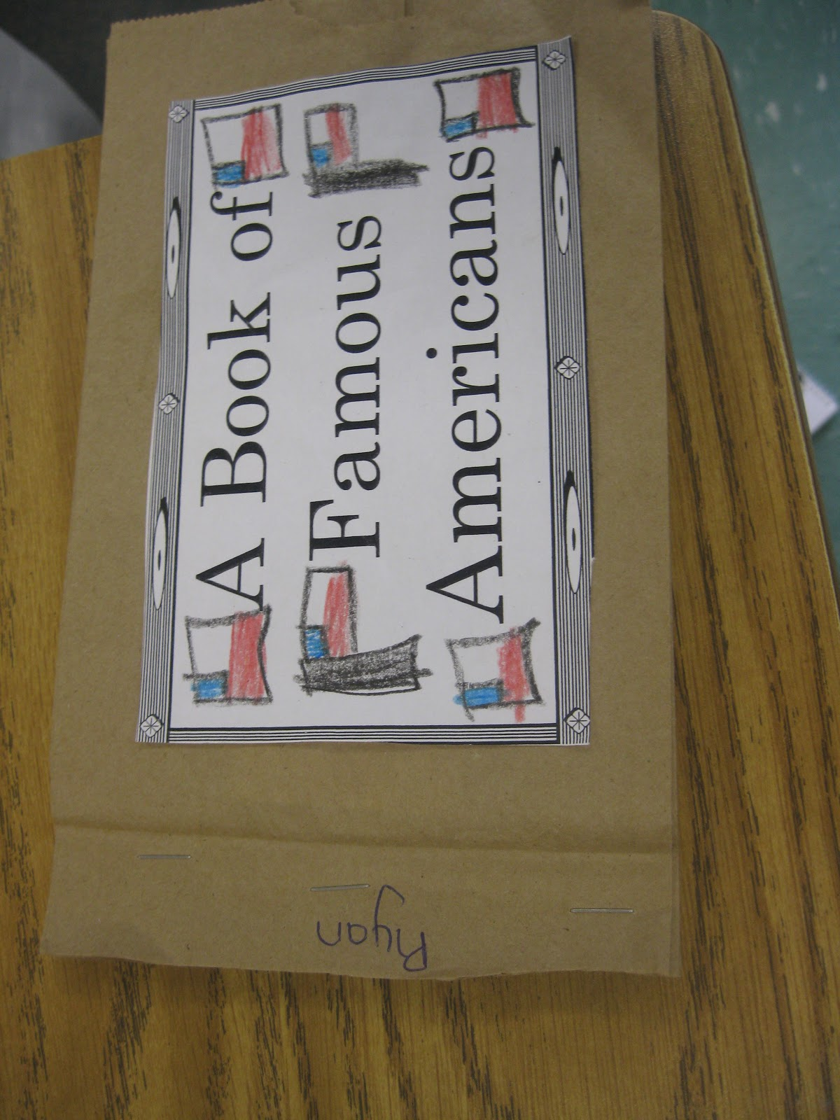 Third Grade Thinkers A Famous American Paper Bag Book