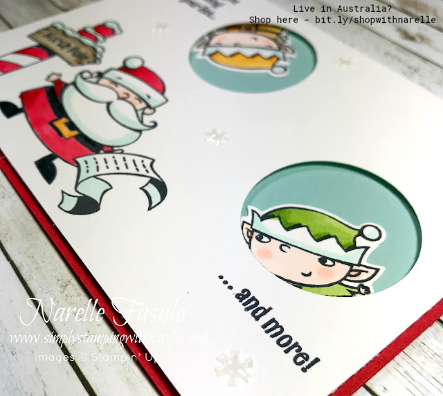 Want to make cute Christmas projects this year? Then you can't go past the cute and whimsy Signs of Santa. See it here - http://bit.ly/SignsofSantaBundle