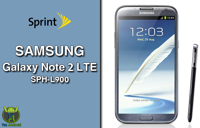 Download L900VPSCQA1 | Galaxy Note 2 (Sprint) SPH-L900