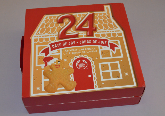 The body shop 24 days of joy