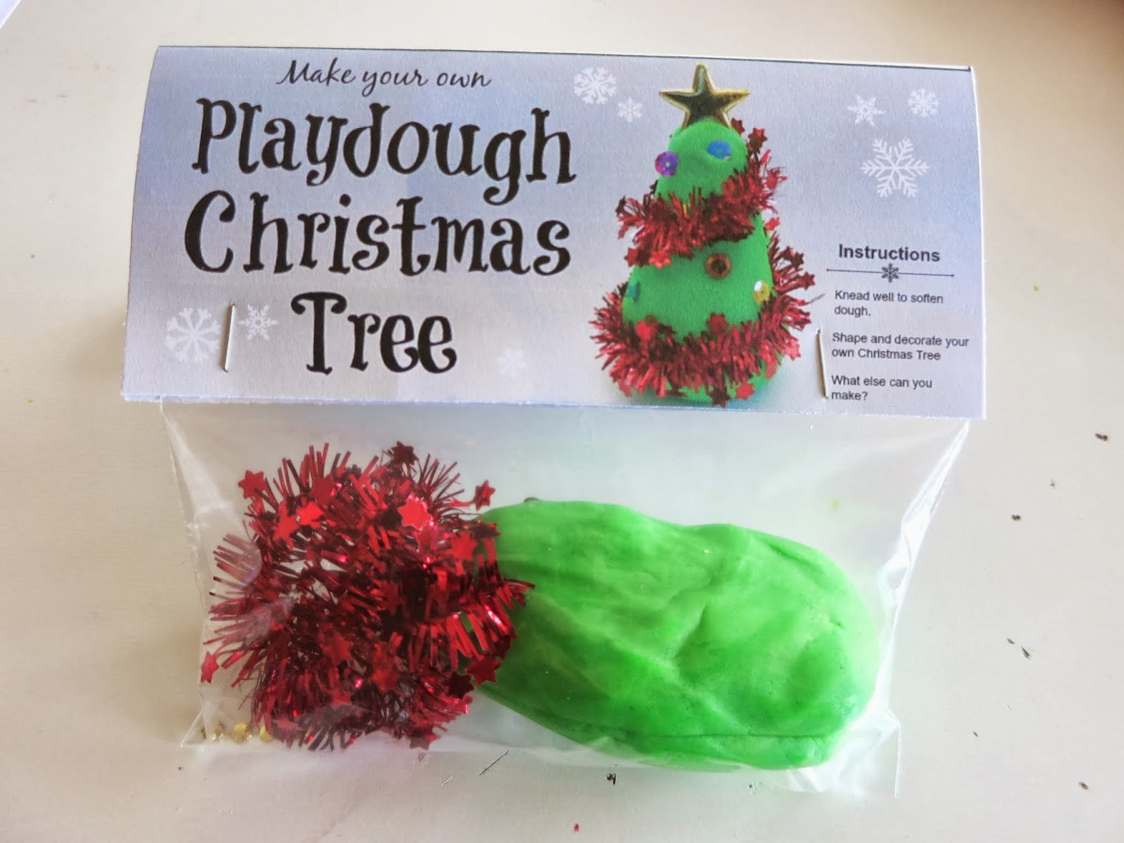 Learn With Play At Home Diy Chistmas Tree Playdough Gift Bags Free Printable Labels
