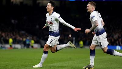 Highlight Tottenham Hotspur 1-0 Manchester City, 09 April 2019
