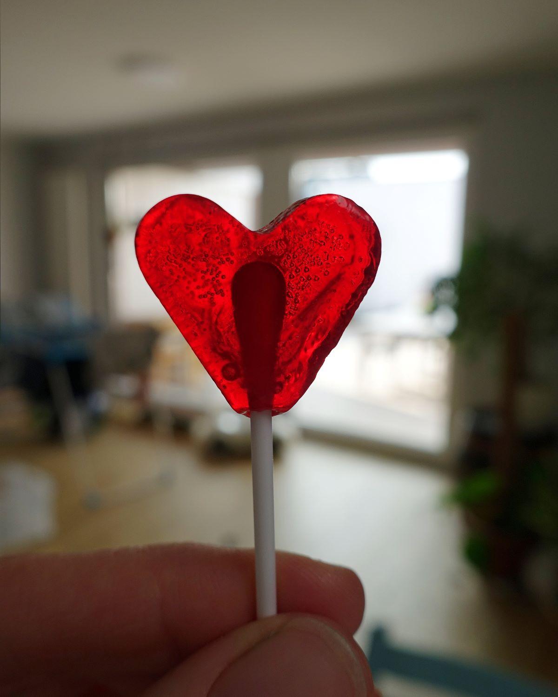 Ein Herz mit Innenleben