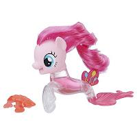 MLP The Movie Pinkie Pie Flip & Flow Seapony Brushable
