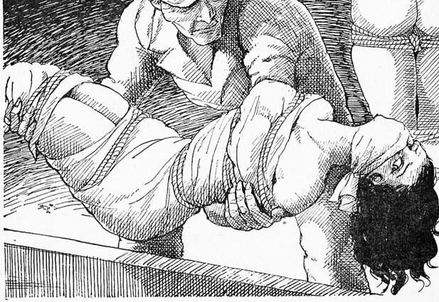 Damsels in bondage drawings