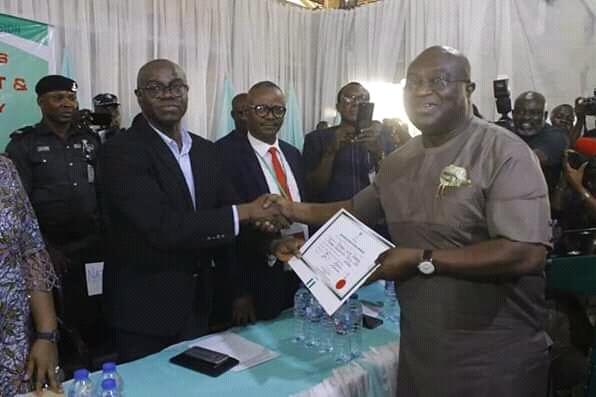 Let's Build Abia Together, @GovernorIkpeazu Tells Otti, Ogah