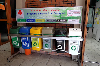 recycling bins in Puriscal