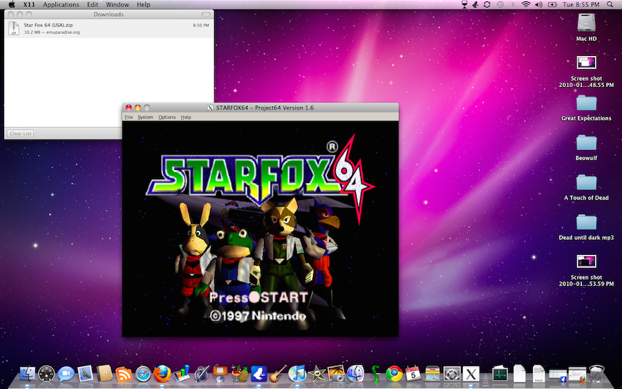Project64 on Mac