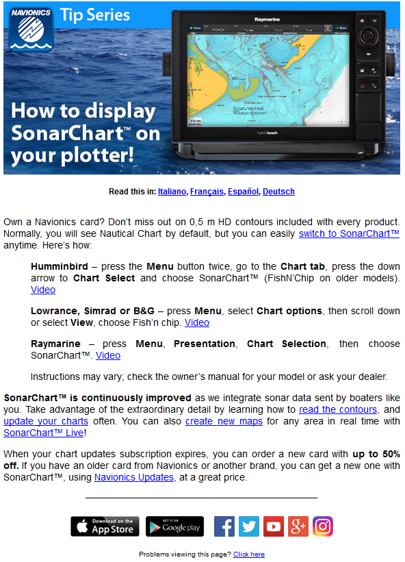 Crystal Blues: Navionics Sonar Charts & The Missing Reef