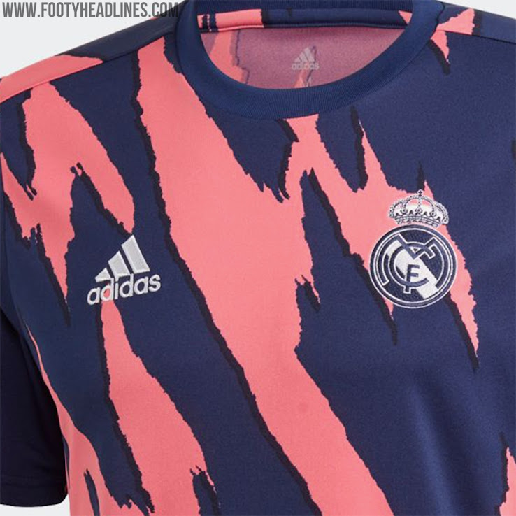 Adidas Real Madrid 2021 Pre-Match Jersey Released - Boasts ...