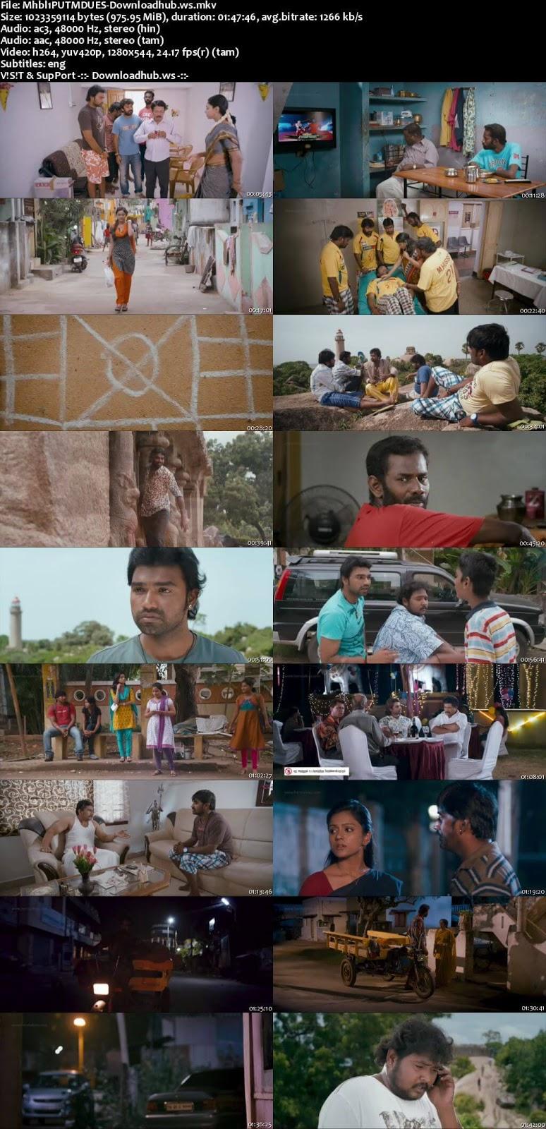 Mahabalipuram 2015 UNCUT Hindi Dual Audio 720p HDRip Download