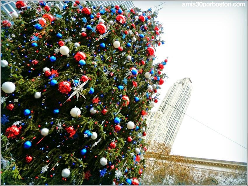 Árbol de Navidad del Bryant Park en Nueva York