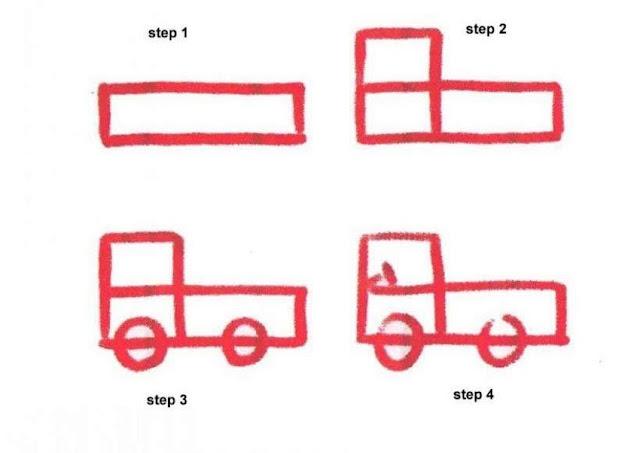 Cara Mudah Menggambar Mobil Untuk Anak-Anak