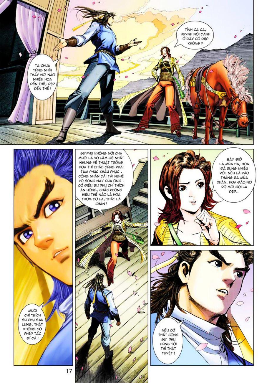 Anh Hùng Xạ Điêu anh hùng xạ đêu chap 39 trang 17
