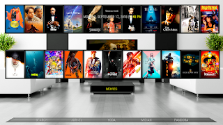 Lounge build kodi