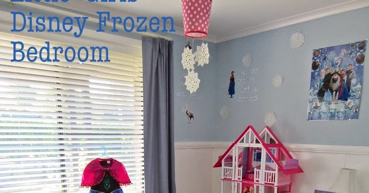 Restyle Relove Little Girls Disney Frozen Bedroom